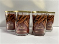 Lot of 4 new Chesapeake Bay cinnamon candles