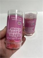 Lot of 2 friendly fruits magic bath confetti