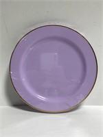 New Spritz! 8 ct purple plastic party plates