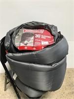 Coleman 30 degree sleeping bag, 6.5 ft