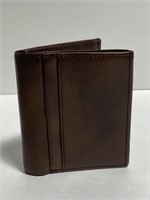 New Goodfellow & co. leather billfold wallet