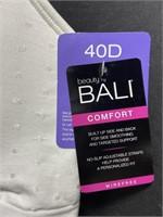 New Bali women's wire free comfort band bra