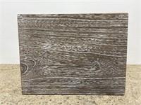 New Project62 paulownia wood storage crate