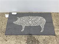 New Threshold grey kitchen rug