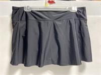 NWT Kona Sol women's black swim skirt