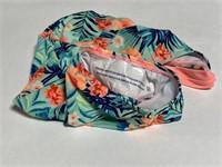 New Cat & Jack girls neon tropical swimsuit XS