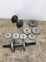 Barbells and weight plates