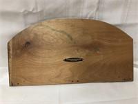 Wood Elder & Jenks sign 15x8