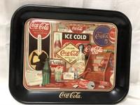 Metal Coca Cola tray 13x10