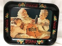 Vintage metal Coca Cola tray 13x10