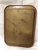 Vintage metal Coca Cola tray 15x10