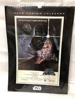 SEALED Star Wars 2006 Poster Calendar 18x13