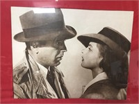 21x17 matted and framed Bogart pic