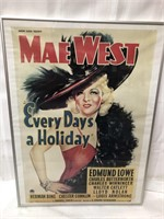 24x18 Mae West piste franed