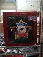 Collectible Eskimo Pie Christmas ornament Eskimo