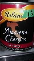 3lb tin of amarena cherries