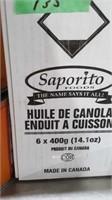6x400g canola oil