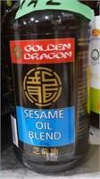 Six bottles sesame oil blend