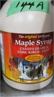 1 litre pure maple syrup
