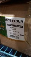 11kg rice flour may have bit missing