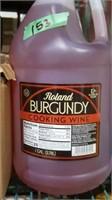 2 jugs burgundy cooking wine
