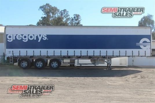 2001 Vawdrey Curtainsider Trailer Semi Trailer Sales Pty Ltd - Trailers for Sale