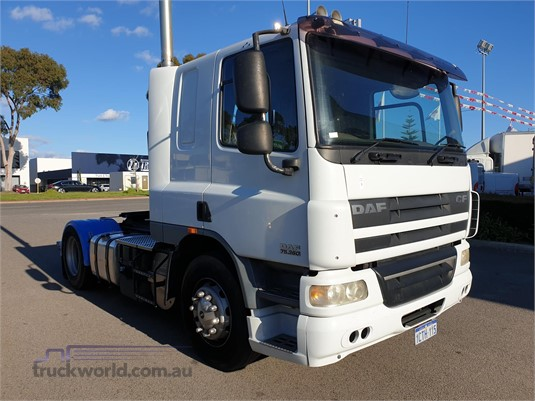 2008 DAF CF75.360 - Trucks for Sale