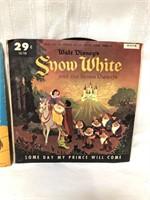 2 vintage Walt Disney Snow White children's