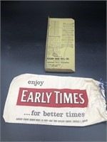 Early Times Bag and Shoe Sizer
