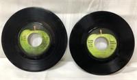 2 vintage vinyl Apple records-Beatles & Mary