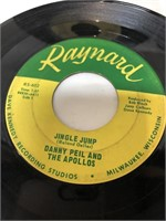 4 vintage vinyl records-PROMO Handshake Records