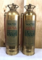 Two antique bell systems E-7 water fire