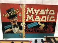 1938 Gilbert Mysto Magic Exhibition Set with