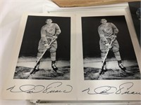 Hockey St Louis Blues Autograghed by-
