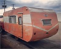"""1958 TOUR A HOME 16' Vintage Camper Named """"DOTTIE"""""""