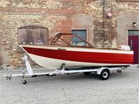1961 Cruisers 302v Vintage Boat