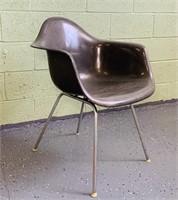Herman Miller Elephant Gray Fiberglass Chair