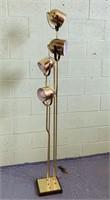 Iconic Brass Floor Lamp by Geoffredo Reggiani,