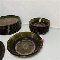 "Mikasa ""Adonis"" Dish Set"