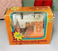 1965 Baby Secret, Sewing Machine, Clothes Hamper,