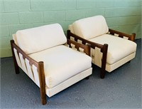 Mid Century Modern Brazilian Lounge Chairs