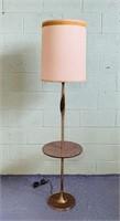 Laurel Lamp w/Sculptural Cast Brass, Table