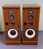 Fisher STV-756 Stereo Speakers