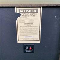 Fisher STV-756 Stereo Speakers