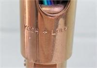 """Koch-Lowy Brass Desk Lamp, 24"""" Reach"""