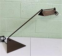 Koch-Lowry Delta Desk Lamp, Heavy Metal Lamp