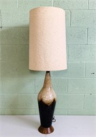 "Lava Glaze TALL Lamp, 47"" total height"