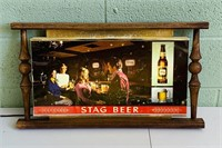 """Stag Beer Carling Brewing Lighted sign, 25"""" x 14"""""""