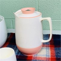 Ice Bucket, 2 Cups and Insulated Pitcher