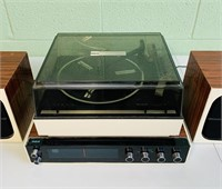 RCA Stereo Receiver and Record Player
